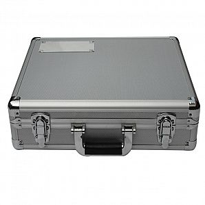 Aluminum Carrying Case with Nameplate & Cut-foam