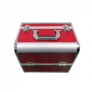 Aluminum Makeup Train Case