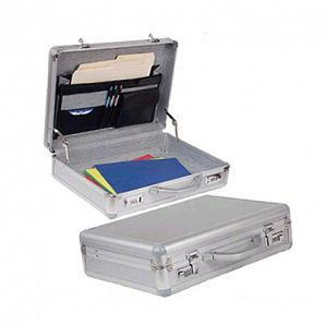 Aluminum Laptop Briefcase